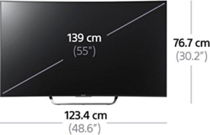 Curved TV, Sony KD55S8005CBAEP